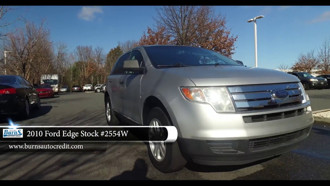 2010 Ford Edge Stock 2554w Burns Buy Here Pay Here