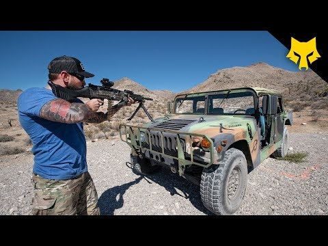 Will Humvee Bulletproof Glass Stop Sustained Fire?
