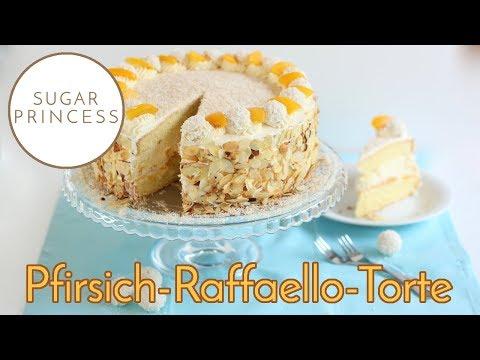 Raffaello Torte | Kokos Torte: Super lecker, einfach und schnell | Rezept von Sugarprincess