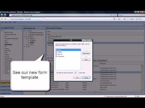 Simplest Web Application UI Design