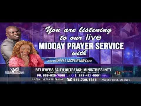Prophetess Mattie Nottage (LIVE) Prayer Revolution-12 Minutes to Breakthrough