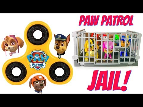 Thumbnail: Paw Patrol FIDGET SPINNER Help Get the Pups Out of Jail Learn Colors