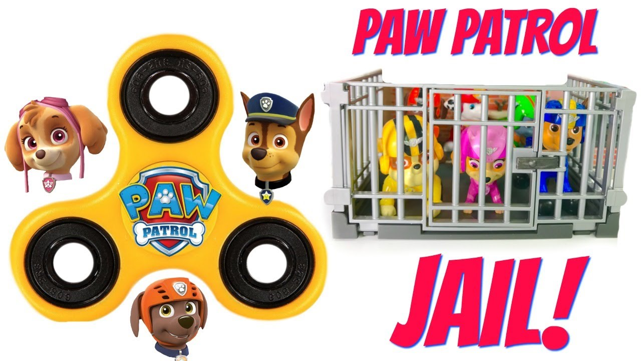 paw-patrol-fidget-spinner-help-get-the-pups-out-of-jail-learn-colors