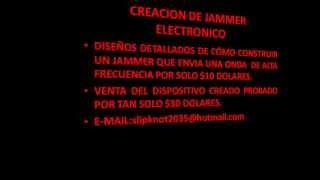 JAMMER SLOT COLOMBIANO MACHINE