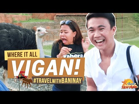 VIGAN CITY (Ilocos Sur) | Travel with BANINAY | Baluarte Zoo, Calle Crisologo & more! | TricksterzPH
