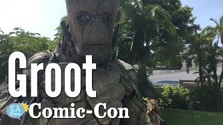 Real Life Groot: Comic-Con | Los Angeles Times