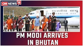PM Modi Arrives In Bhutan for His  Two Days Visit