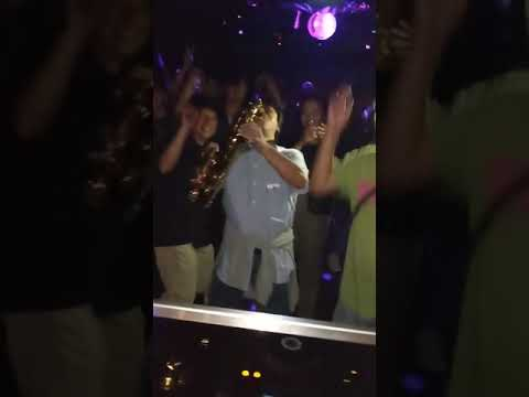The Ace & TJ Show - This Sax Player is Ready for the Club!