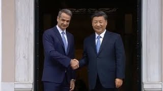 Live: President Xi and Greek PM makes statements to the press 国家主席习近平与希腊总理向媒体发布声明