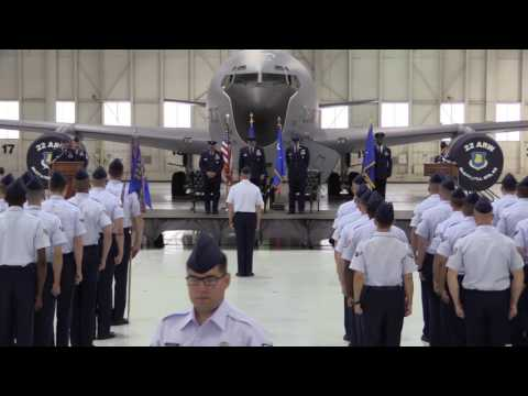 22nd Air Refueling Wing Change of Command