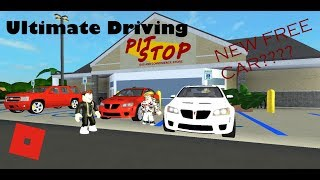 ROBLOX - Ultimate Driving New Update- FREE CAR??
