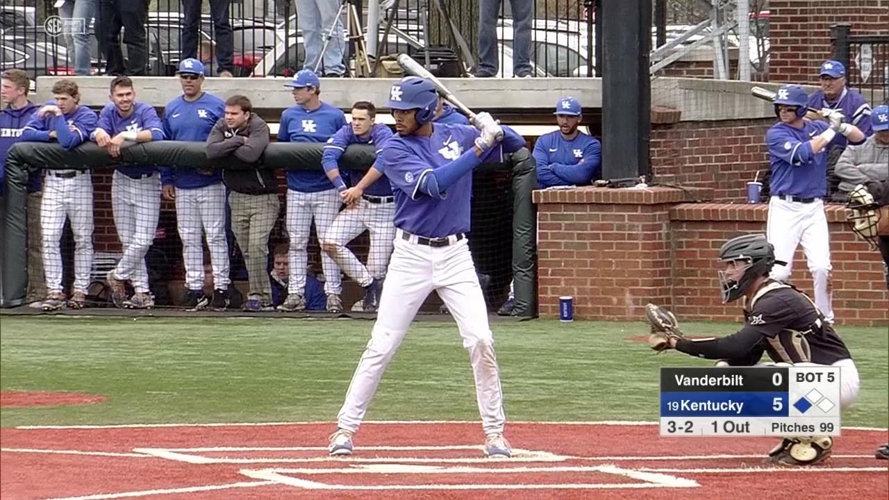 BSB: Kentucky 7, Vanderbilt 4 - Game Two - YouTube