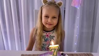 ВЛОГ Утро дочки в её день рождения 🍰 🥳 ! Поздравления семьи !