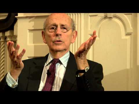 Stephen Breyer: The Court and the World