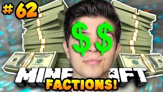 "Minecraft FACTIONS VERSUS ""THE LUCKIEST MAN ALIVE!"" #62 