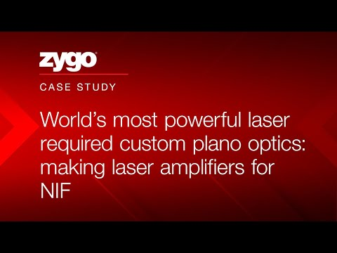 World's most powerful laser required custom plano optics: making laser amplifiers for NIF