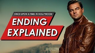 Once Upon A Time In Hollywood: Ending Explained Breakdown & Real Life VS The Movie | SPOILER REVIEW