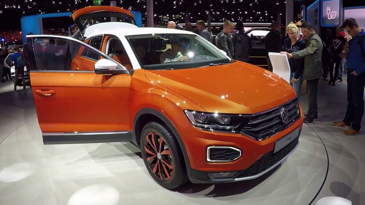 Volkswagen Vw T Roc Style Suv New Model 2017