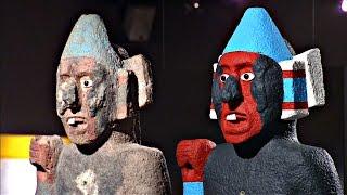 Выставка показывает культуру ацтеков в её изначальных ярких красках (новости)