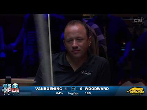2016 US Open 10-Ball: Shane Van Boening vs Skyler Woodward