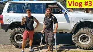 Rear Sway Bar Removal - Vlog #3