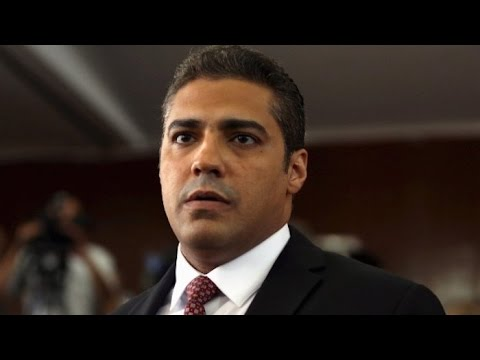 #FREEDAJSTAFF – Mohamed Fahmy and his lawyer Amal Clooney talk to the Frontline Club