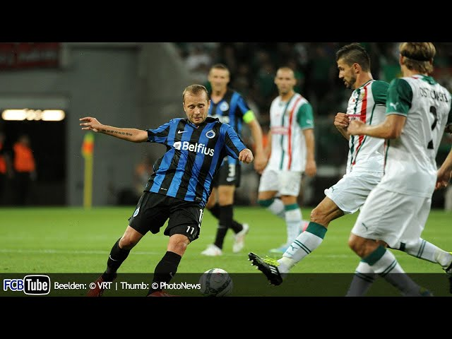2013-2014 - Europa League - 01. 3de Voorronde - Slask Wroclaw - Club Brugge 1-0