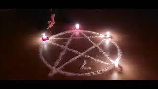 Schwarzer Engel - Teufel