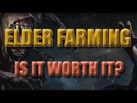Elder Farming! Is it worth it? Blade Vortex Update!