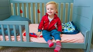 GETTING A TODDLER BED!