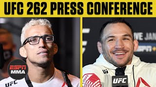 UFC 262 Press Conference | ESPN MMA