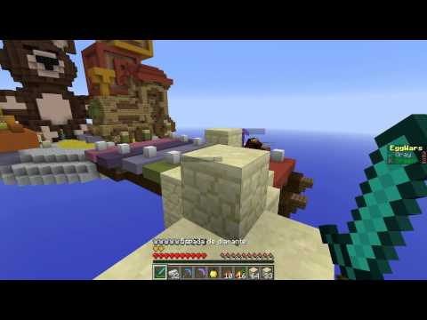 NO!! ES HACKER!! - Egg Wars Minecraft