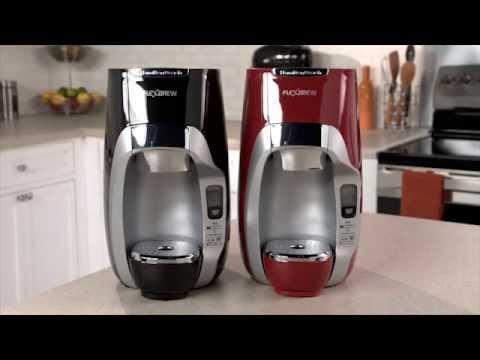Hamilton Beach Flexbrew Programmable Single Serve Coffeemakers With