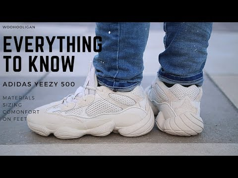 sale retailer ff883 d589d EVERYTHING TO KNOW ADIDAS YEEZY 500 - YouTube