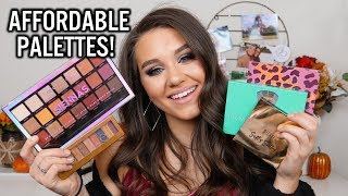 THE BEST DRUGSTORE & AFFORDABLE EYESHADOW PALETTES!