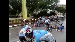 Le Tour De Langkawi -Video exclusive accident..