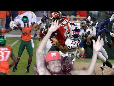 HEAVEN TO HELL WWE STYLE!! BEST FOOTBALL BODY SLAMS OF ALL TIME REACTION!