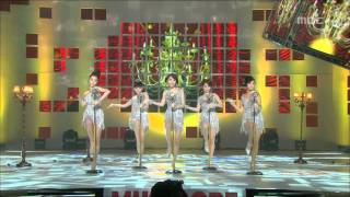 Wonder Girls - Nobody, 원더걸스 - 노바디, Music Core 20081025