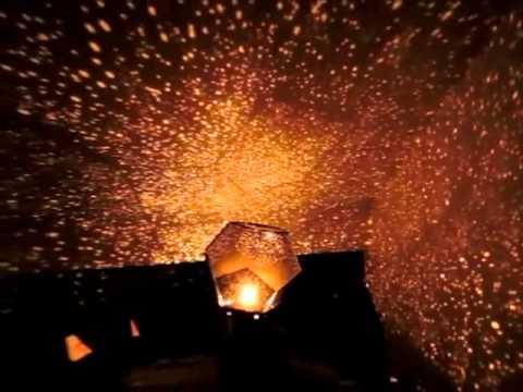 Lampara proyector estrellas constelaciones preciochevere - Como hacer una lampara de techo ...