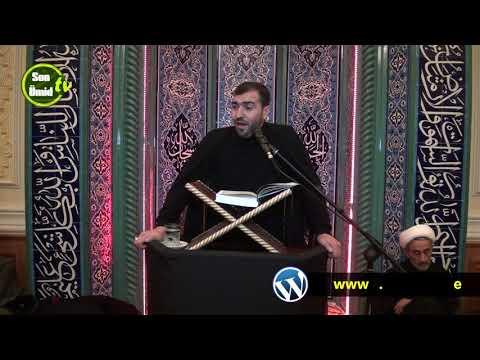 Hacı Ruslan xanım Fatimeyi-Zəhranın (s.ə) şəhadəti ilə bağlı Quran tilaveti