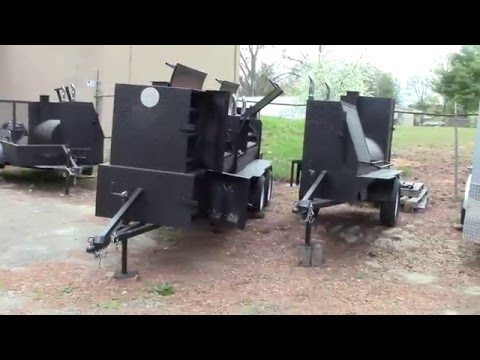 T Rex Pro Competition BBQ Smoker Grill Trailers for Sale Rentals BBQ Catering Events Atlanta Georgia