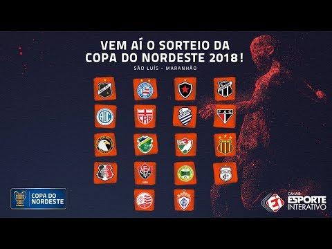 SORTEIO DA COPA DO NORDESTE 2018 - YouTube bec2445f668fc