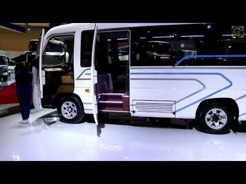 (GIIAS 2019) Review Medium Bus Adiputro Big Benz OF 917 & Jumbo Jetbus MC