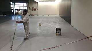 Trabajos de pintura decorativa e industrial en concesionario Peugeot
