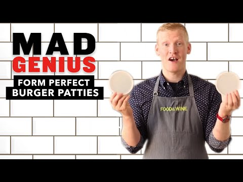 How to Form Perfect Burger Patties | Mad Genius Tips | Food & Wine