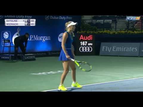 Украинка Свитолина выигрывает турнир в Дубаи. Последний сумашедший гейм