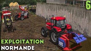 Farming Simulator 17 - Exploitation Normande - On s'occupe du bétail ! (#6)