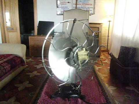 Antique R&M lollipop electric fan