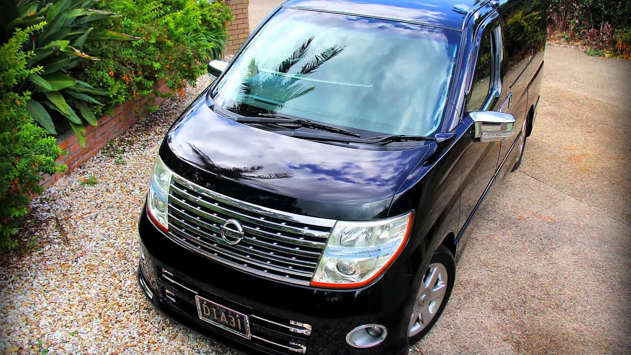 2007 Nissan Elgrand E51 4WD Highway Star