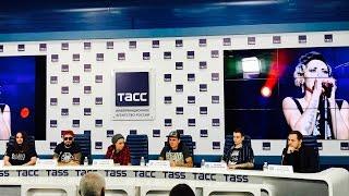 Пресс-конференция группы LOUNA в ТАСС (28.02.2017)